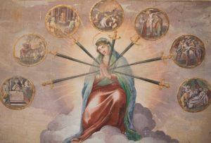 Madonna Addolorata delle Sette Spade, Santo Stefano Rotondo, Roma (CIRCONCISIONE)