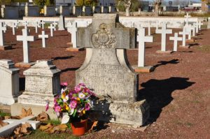 Fosa común en la que fueron enterrados, junto a otras víctimas, los mártires de la Orden Hospitalaria